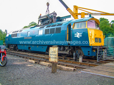 D1013 Western Ranger 10/7/04 Bridgnorth Withdrawn 02/77 LANow Preserved / Private Owner as at 14/6/18