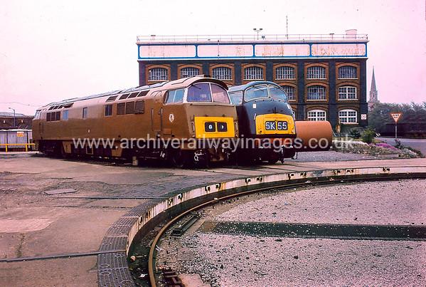 Class  52 Diesel Hydraulic Locomotives