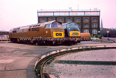 D1015 Western Champion + D818 Glory 1/6/84 Swindon Works D1015 Withdrawn 12/76 LA	Now Preserved / Private Owner 29/8/17 D818 Withdrawn 11/72 NA	Cut-Up 11/85 Swindon Works