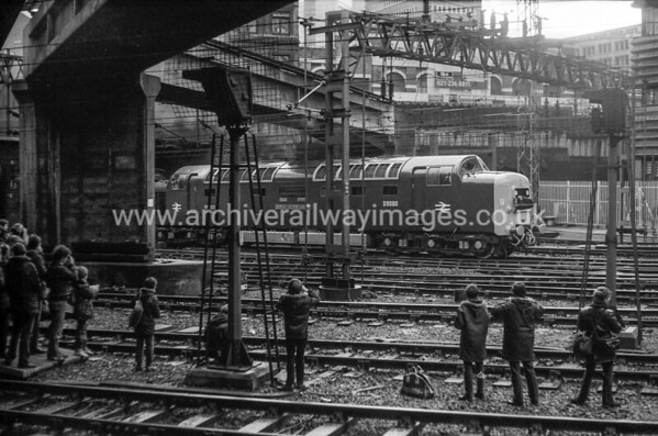 55022 Royal Scots Grey 28/11/81 Birmingham New St Withdrawn 01/82 YKNow Preserved / Private Owner as at 6/8/17