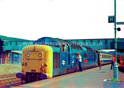 55011 The Royal Northumberland Fusiliers 11/7/79 Peterborough Withdrawn 8/11/81    Cut-Up  4/11/82 Doncaster Works