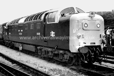 55018 Ballymoss 15/6/80 Sheffield Midland Withdrawn 10/81 YK	Cut-Up 01/82 Doncaster Works