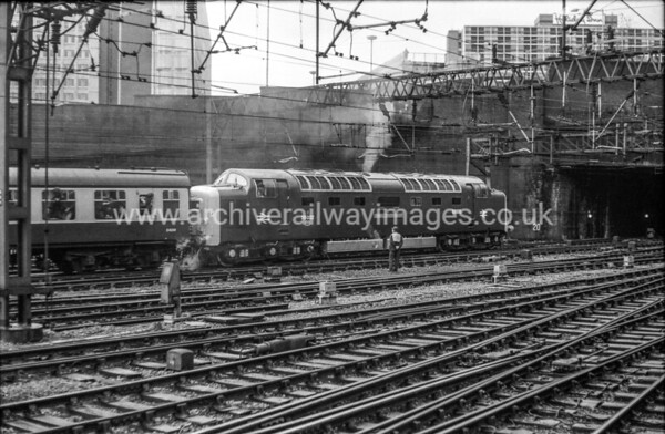 55022 Royal Scots Grey 28/11/81 Birmingham New St. Withdrawn 01/82 YKNow Preserved / Private Owner as at 6/8/17