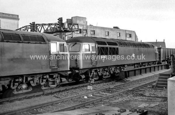 56039 + 56038 Western Mail 26/1/84 Cardiff Central 56039 Withdrawn 08/99 IM Cut-Up 03/04 TJ Thomson Stockton