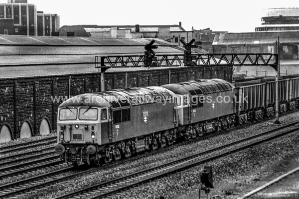 56038 Western Mail + 56039 25/1/84 Cardiff Canton