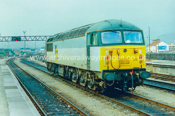 56018 80's Cardiff Central