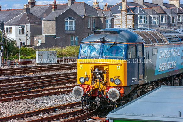 57311 Thunderbird 8/6/15 Plymouth - 0Z45 ex.09.35 Crewe-Plymouth Route Learner Refresher