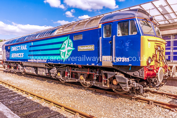 57311 Thunderbird 8/6/15  - 0Z45 ex.09.35 Crewe-Plymouth Route Learner Refresher