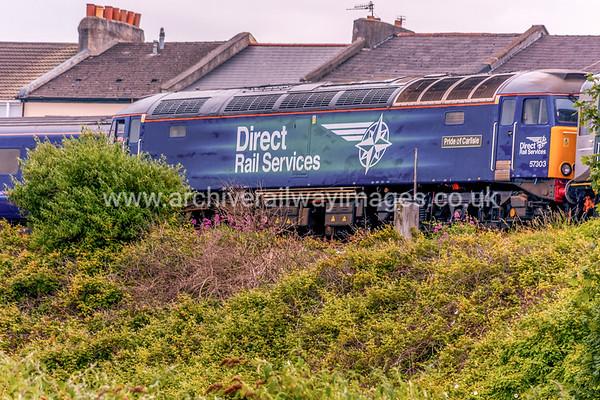57303 Pride of Carlisle 20/6/15 Plymouth - 2P70 ex.12.30 Par-Plymouth