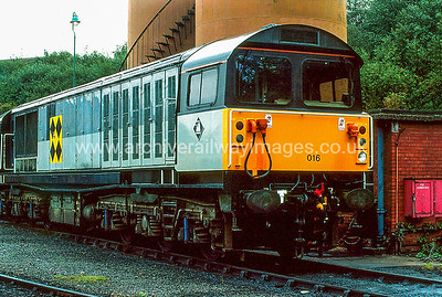 58016 6/9/92 Leicester Depot Withdrawn 05/06 WQNow Preserved / Private Owner as at 22/7/17