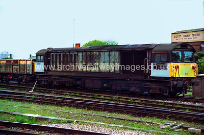 58019 Shirebrook Colliery 8/5/98 Didcot Withdrawn 04/01 TO    	Cut-Up 10/10 EMR Kingsbury