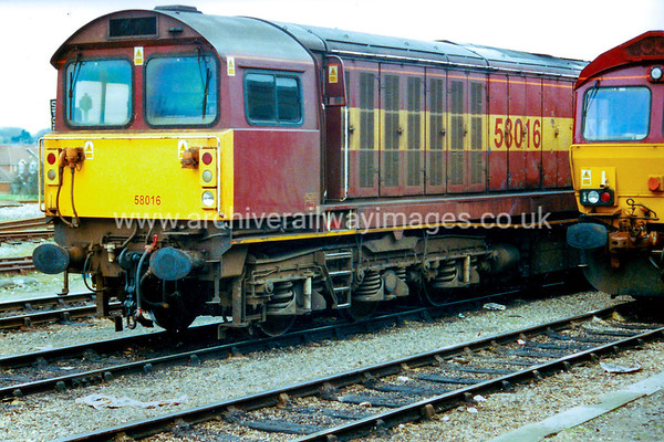 58016 4/3/02 Didcot Withdrawn 05/06 WQ Now Preserved / Private Owner as at 22/7/17