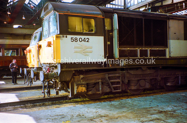58042 19/3/94 Old Oak Common Depot