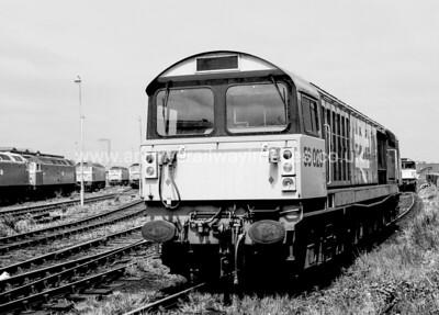 58020 Doncaster Works 7/6/86 Saltley