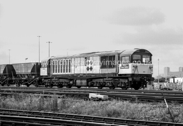 58014 Didcot Power Station 24/8/91 Satley