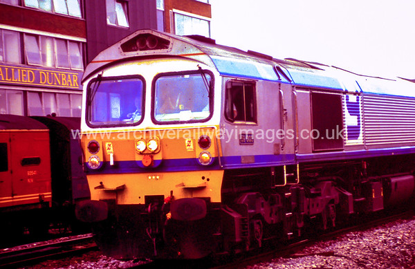 59003 Yeoman Highlander 26/8/88 Swindon