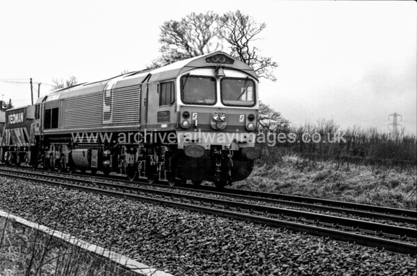 59001 Yeoman Endeavour 27/2/87 Witham Friary