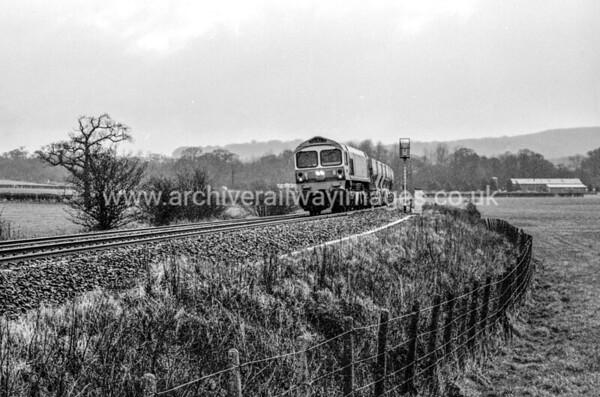 59003 Yeoman Highlander 27/2/87 Witham Friary