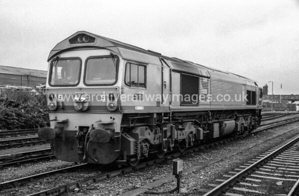 59004 Yeoman Challenger 26/8/88 Westbury