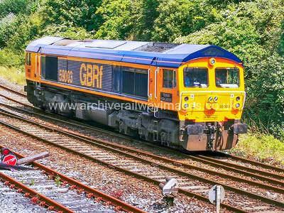 59003 Yeoman Highlander 13/7/21 Mutley, Plymouth - 0Z60 ex.10.12 Eastleigh Yard-Plymouth.