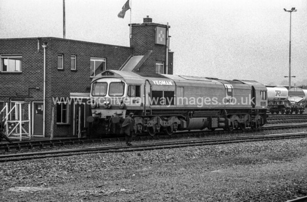 59003 Yeoman Highlander 26/8/88 Westbury