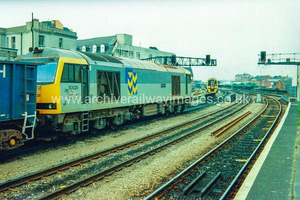 60029 Ben Nevis  c.80's Cardiff Central