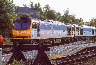 60011 Cadrer Iris 4/9/92 Leicester