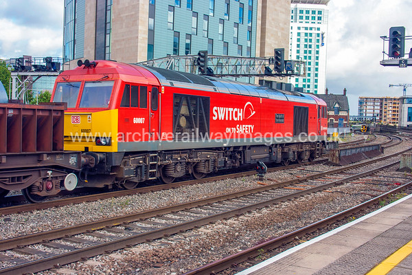 60007 The Spirit of Tom Kendell 12/9/12 Cardiff Central
