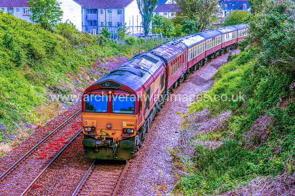 66014 30/5/15 Stoke, Plymouth - 1C52 ex.07.09 Paddington-Par
