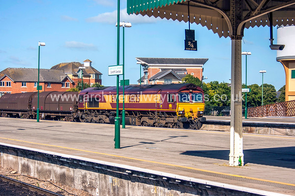 66025 5/9/12 Cardiff Central