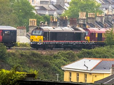 66014 30/5/15 Stoke, Plymouth - 1C52 ex.07.09 Paddington-Par