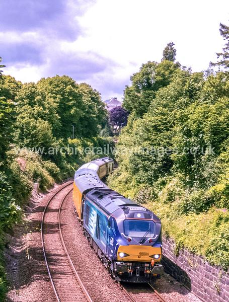 68004 Rapid 1/7/16 Devonport Jct. 1Q18 ex.05.25 Old Oak Common - Paignton via Penzance