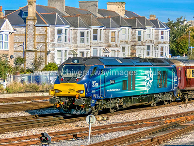 """68003 Astute 22/10/16 Plymouth - """"Northern Belle"""" Stevenage-Plymouth"""