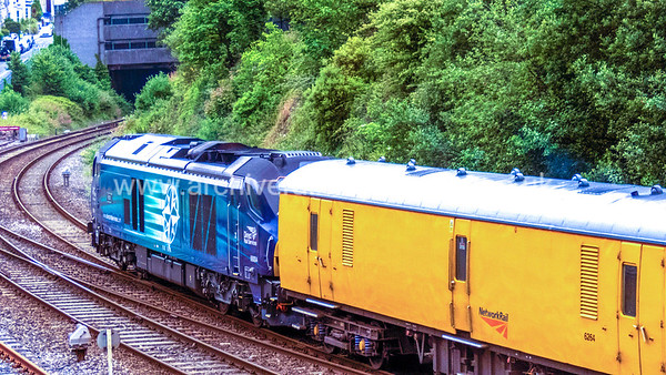 68004 Rapid 1/7/16 Mutley 1Q18 ex.05.25 Old Oak Common - Paignton via Penzance