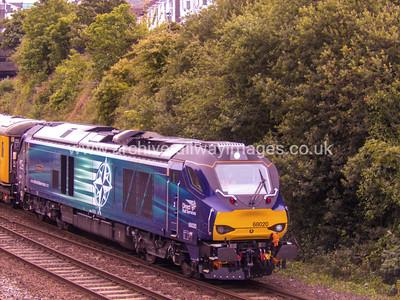 68020 Reliance 1/7/16 Mutley 1Q18 ex.05.25 Old Oak Common-Paignton via Penzance