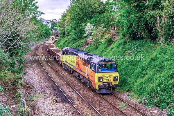 70803 17/5/17 Devonport Jct. 6C21 ex.07.30 Truro-Westbury