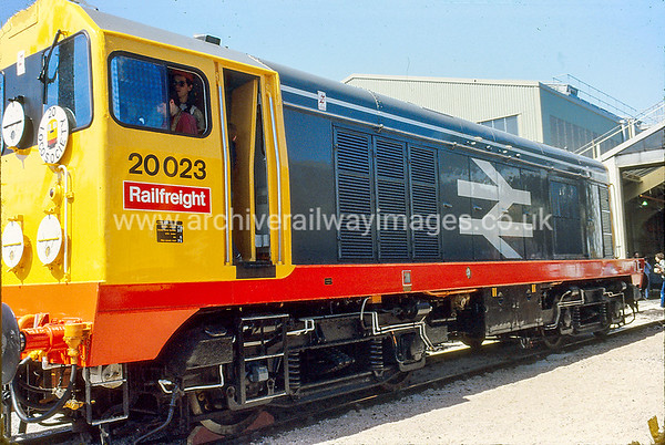 20023 1/6/85 Reading Depot  Withdrawn 05/91 TO	Cut-Up 02/92 MC Metals Glasgow