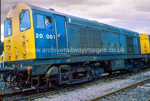 20001 5/5/85 Westbury Depot  Withdrawn 04/88 TO 	Now Preserved / Private Owner as at 12/3/17