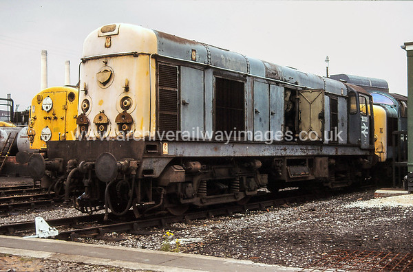 20050 1984 Doncaster Works Withdrawn 12/80 TO Now Preserved / Private Owner as at 8/8/17