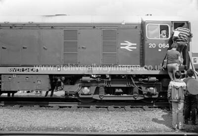 20064 River Sheaf 31/05/87 Coalville Depot Withdrawn 09/90 TOCut-Up 07/91 MC Metals Glasgow