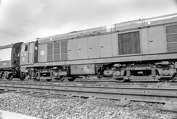 20021 31/5/87 Coalville Withdrawn 03/91 TO Cut-Up 02/92 MC Metals Glasgow