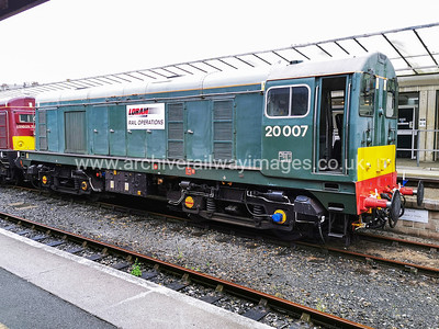 20007 + 20142 3/9/20 Plymouth - 0V16 ex.09.47 Derby RTC - Plymouth, Route Learner
