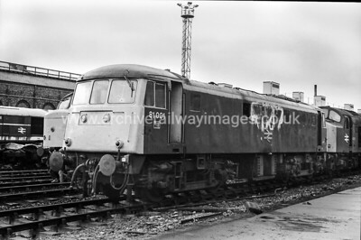 81001 22/11/83 Crewe Works Withdrawn 07/84 GWCut-Up 09/86 BREL Crewe Works
