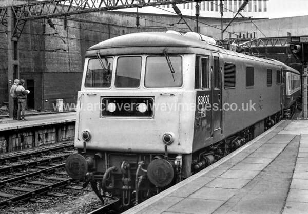 83007 20/2/82 Birmingham New St. Withdrawn 07/83 LG	Cut-Up 12/84 Vic Berry, Leicester