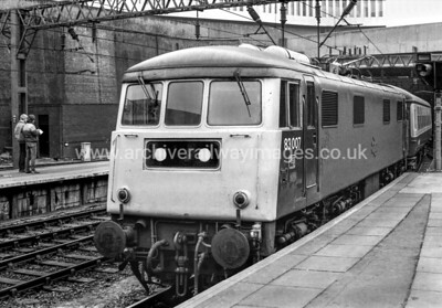 83007 20/2/82 Birmingham New St. Withdrawn 07/83 LGCut-Up 12/84 Vic Berry, Leicester