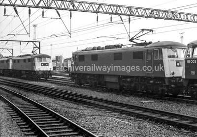 83010 20/8/83 Crewe Withdrawn  07/83 LGut-Up: 12/84 Vic Berry, Leicester