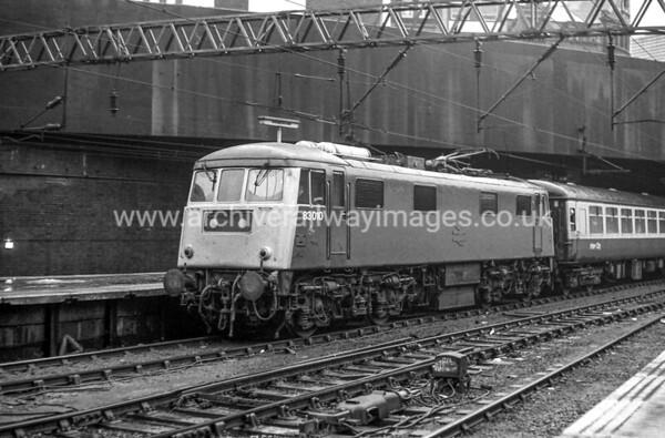 83010 c.80's Birmingham New St.