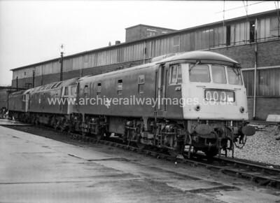 84004 26/2/78 Crewe Works Withdrawn 11/77 CECut-Up 03/85 Bird Group Long Marston