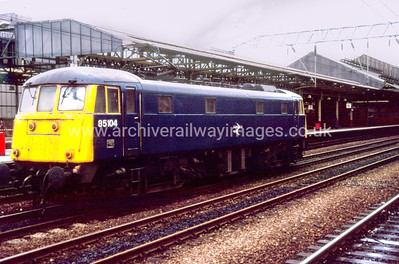 85104 11/6/91 Crewe Withdrawn 07/91 CE	   Cut-Up 10/92 MC Metals Glasgow