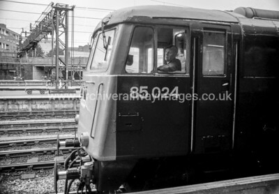 85024  23/10/87 Euston Withdrawn  05/90 CE	    Cut-Up: 06/93 MC Metals Glasgow